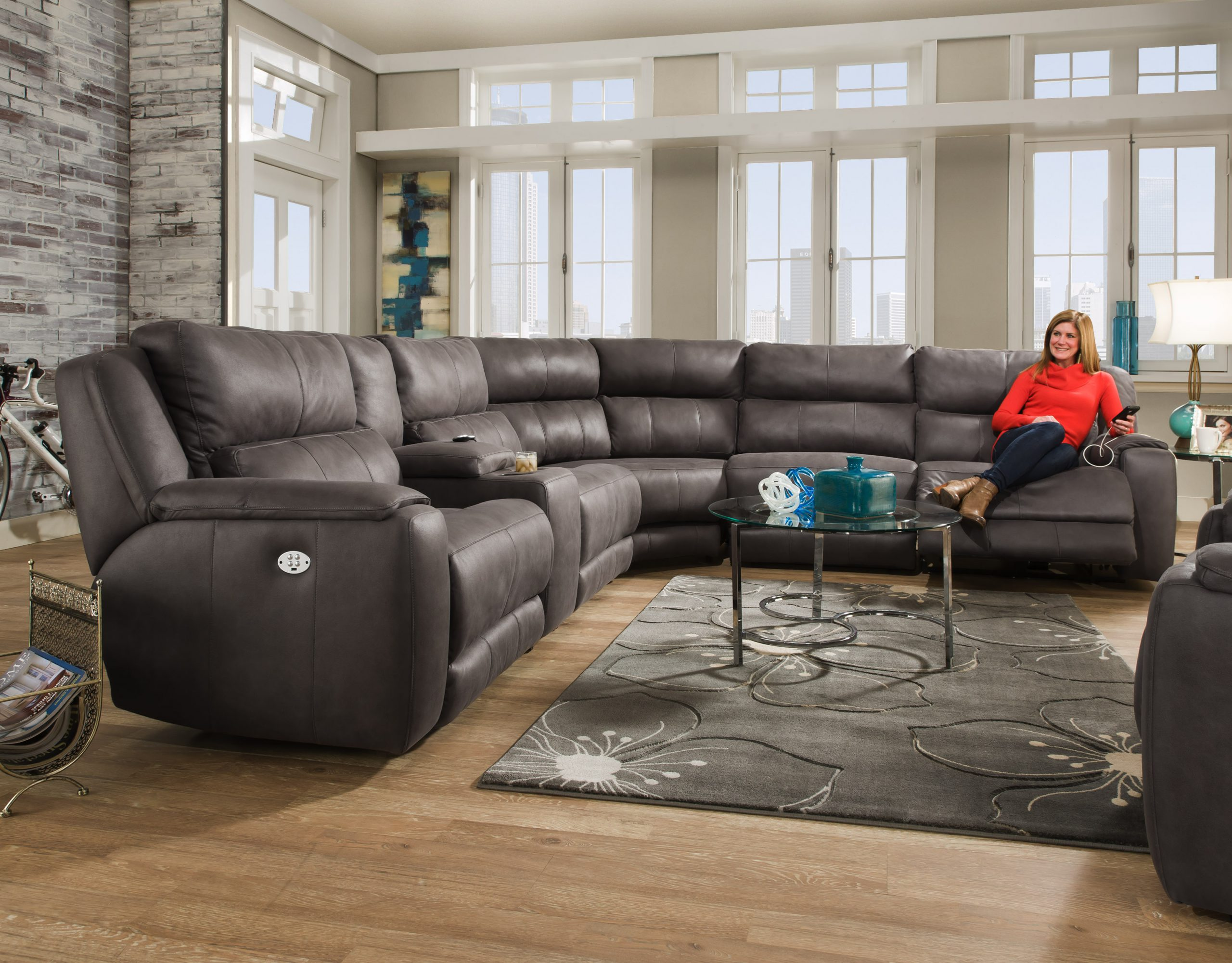 Picture of: 883 Dazzle Sectional Southern Motion