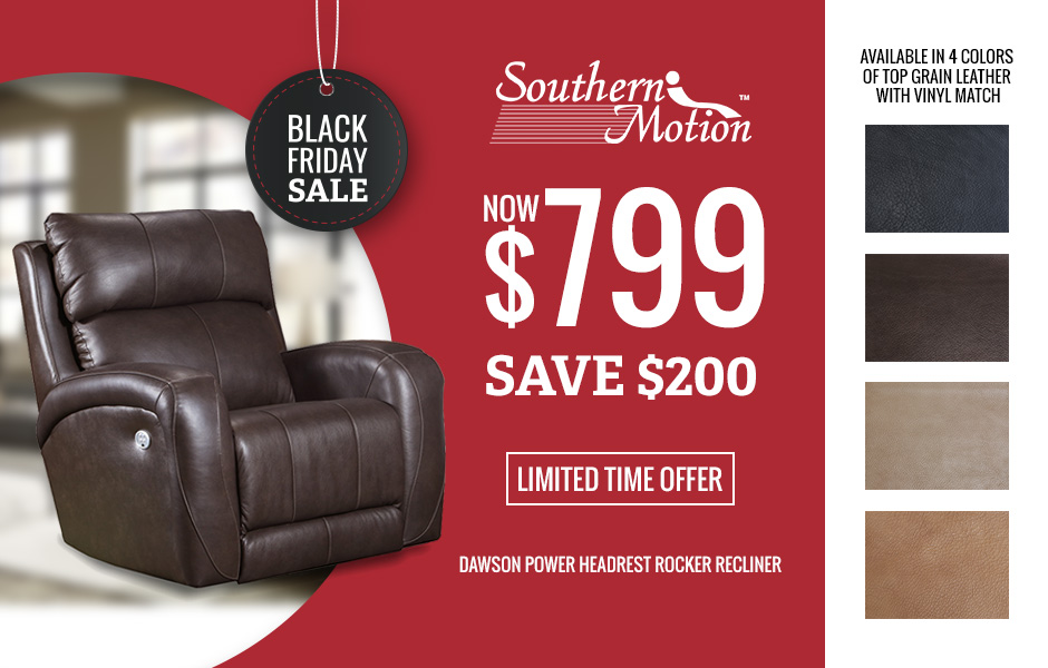 Southern Motion Black Friday sale image