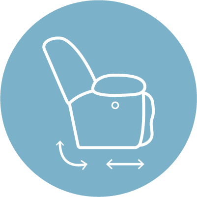Swivel Glider Icon