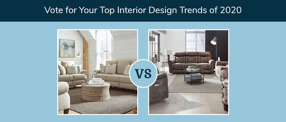Choose from top interior design trends of 2020