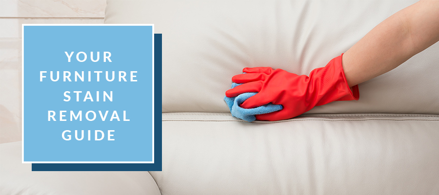Removing stain from furniture