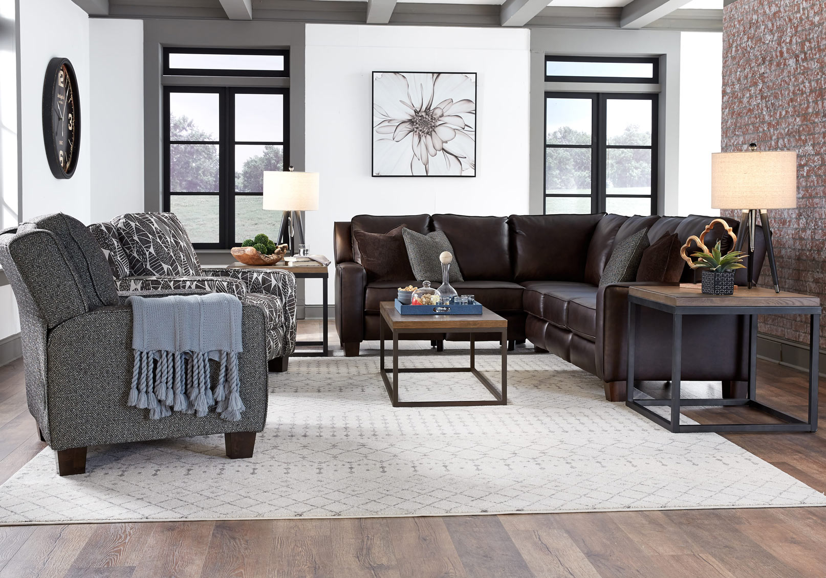 685 West End Sectional Image