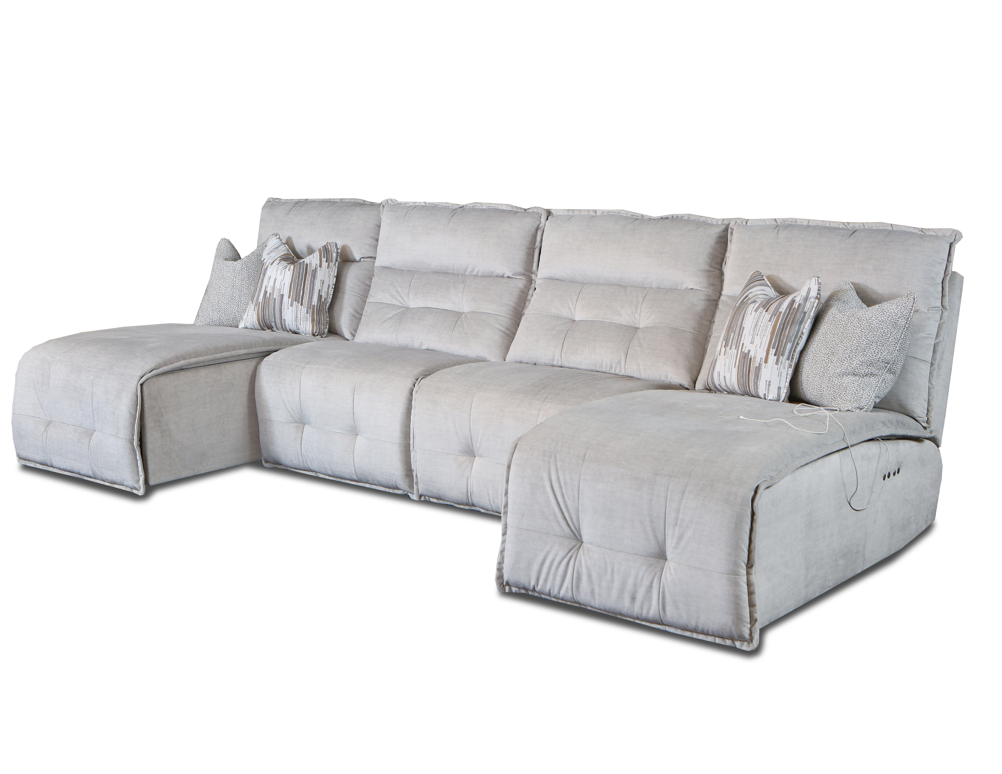 230-BLOCK-BUSTER-4-PC-CHAISE-SECT-IN-157-09-LEGACY-PLATINUM-SWP