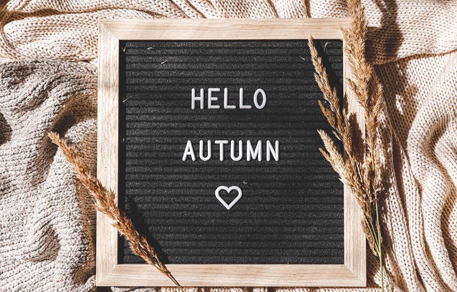 Fall home decor idea